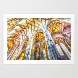 St Stephens Cathedral Vienna Art Art Print