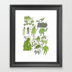 swswswswsw Framed Art Print