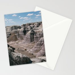 Petrified Forest's Purple Badlands Stationery Cards
