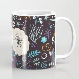 Subsea floral pattern Coffee Mug