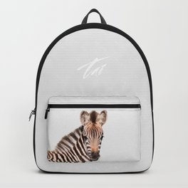 Baby Zebra Backpack