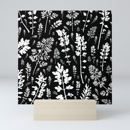 plenty of plants in the dark Mini Art Print