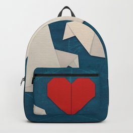 Origami Lovebirds Backpack