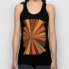 70's Star Burst Unisex Tank Top