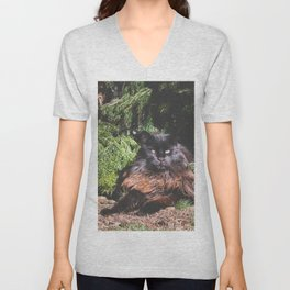 The king of the cats Unisex V-Neck