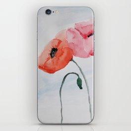 Poppies no 3 iPhone Skin