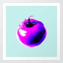 Pink tomatoes Art Print