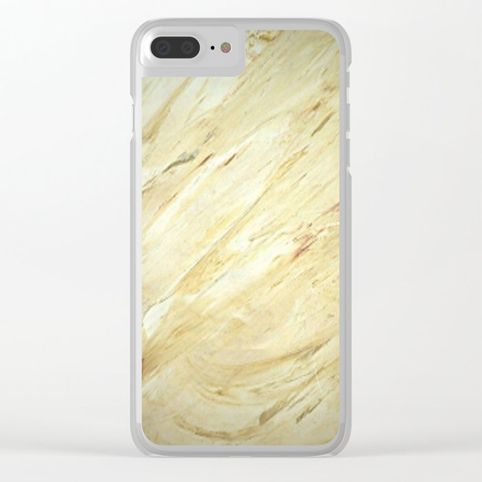 Old World Marble II - Faux Finishes - Marble Clear iPhone Case
