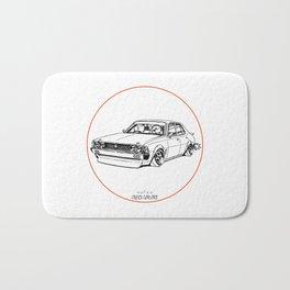 Crazy Car Art 0204 Bath Mat