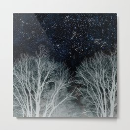 Constellation Forest Metal Print