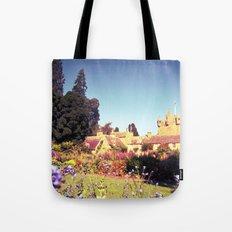 castle flowers. Tote Bag