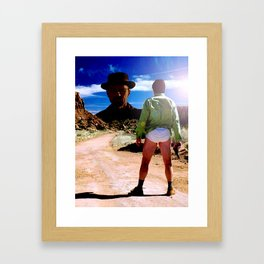 Ozymandias - Breaking Bad Framed Art Print