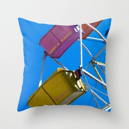 Ferris_Wheel - 3, Northern Michigan Throw Pillow