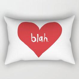 Ambivalent Valentine Rectangular Pillow