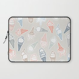 Colorful icecream for summertime Laptop Sleeve
