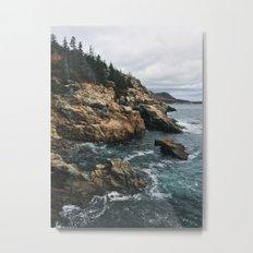 Coastal Acadia Metal Print