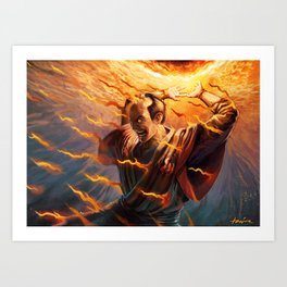 Steal the Candle's Flame Art Print