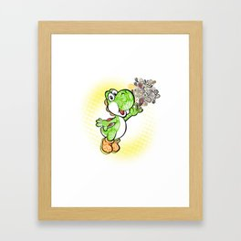 Yoshi Wonderland !  Framed Art Print