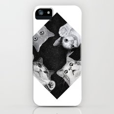 When you are kitten in the box iPhone SE Slim Case