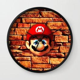 Mario Bross Wall Clock