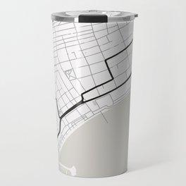 Baku Street Circuit Azerbaijan Travel Mug