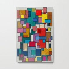 Abstract #317 Metal Print