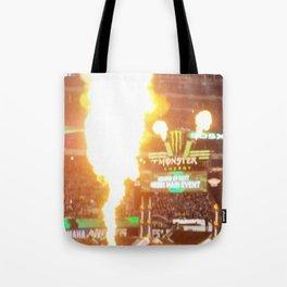MX Supercross Explosive Fire Tote Bag