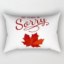 150 Years of Sorry Rectangular Pillow
