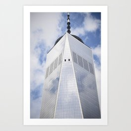 Top of the Tower Art Print