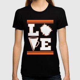"Cheerleading Tee Perfect Gift For Cheerleaders Saying ""Love Cheer!"" Cheerfulness Shout Dance Support T-shirt"