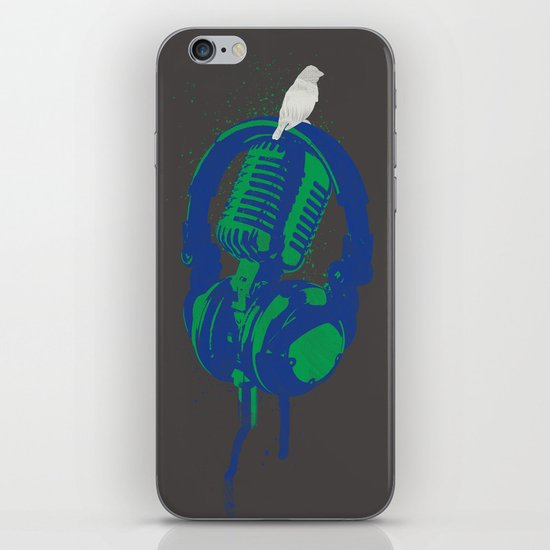 Earth Song iPhone & iPod Skin