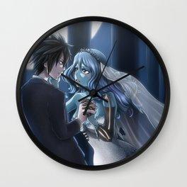 You may kiss the Bride Wall Clock