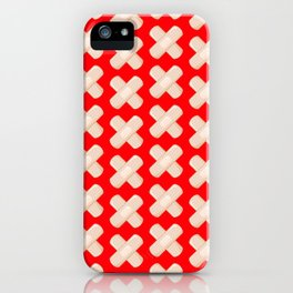 First Aid Plaster iPhone Case