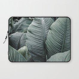Banana Leaves Tropical Art Laptop Sleeve