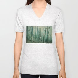 With Canvas Above, We Fall From The Sky Unisex V-Neck