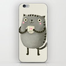 I♥kill (brown) iPhone & iPod Skin