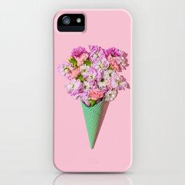 Flower Flurry I iPhone Case