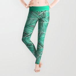 Tropical Turquoise Leggings