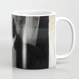 One Cat in the window Coffee Mug