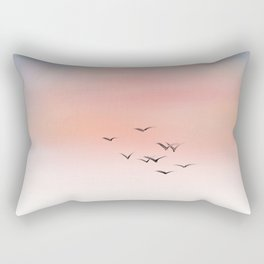 Above Them All Rectangular Pillow
