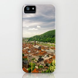 Heidelberg from Above iPhone Case