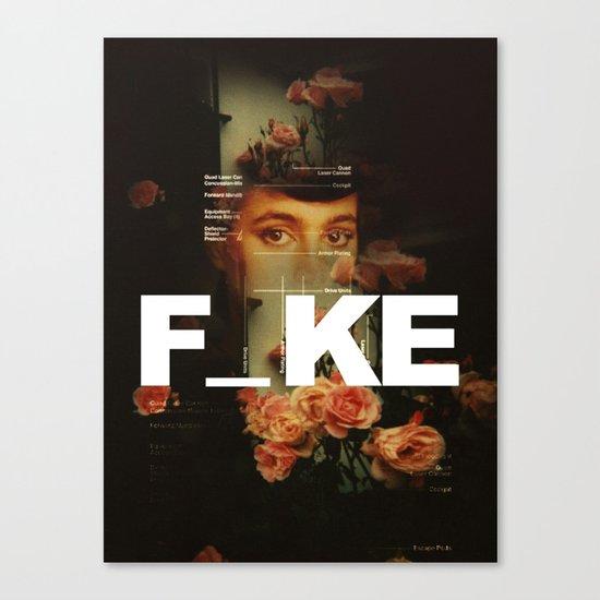 F_ke Canvas Print