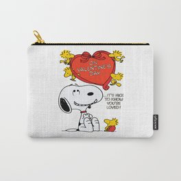 Snoopy Valentine's Day Carry-All Pouch
