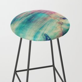 Edward Hopper Graffiti Bar Stool