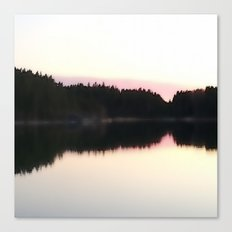 Magical Evening Moment in the Archipelago Canvas Print