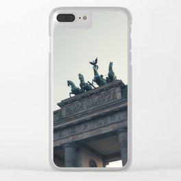 BERLIN Clear iPhone Case