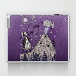 When the Little Prince came to Iceland Laptop & iPad Skin