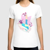 clear T-shirts featuring Clear by Meex Art