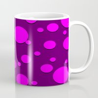 polka dots Mugs featuring Polka Dots by Lyle Hatch