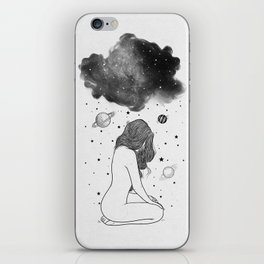 I prefer night. iPhone Skin